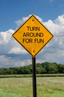 turn around for fun